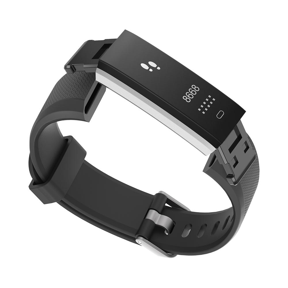 Сменный ремешок для фитнес браслета Lemfo ID115 PLUS Black